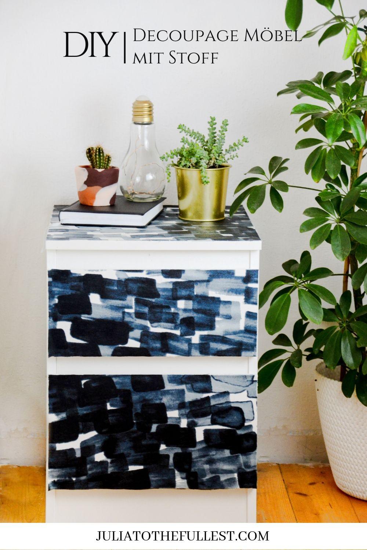 decoupage - möbel mit stoff bekleben |  lifestyle • gruppenboard