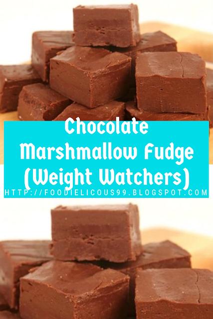 Chocolate Marshmallow Fudge Weight Watchers Chocolate Cake Fudge
