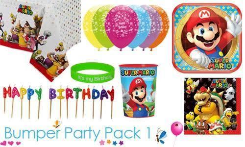 Super Mario bumper party packs #SuperMario #partytime #partysupplies #SuperMarioParty