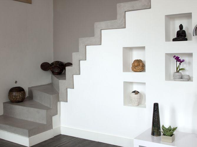 quel est votre style d 39 escalier elle d coration maison jardin pinterest beton escalier. Black Bedroom Furniture Sets. Home Design Ideas
