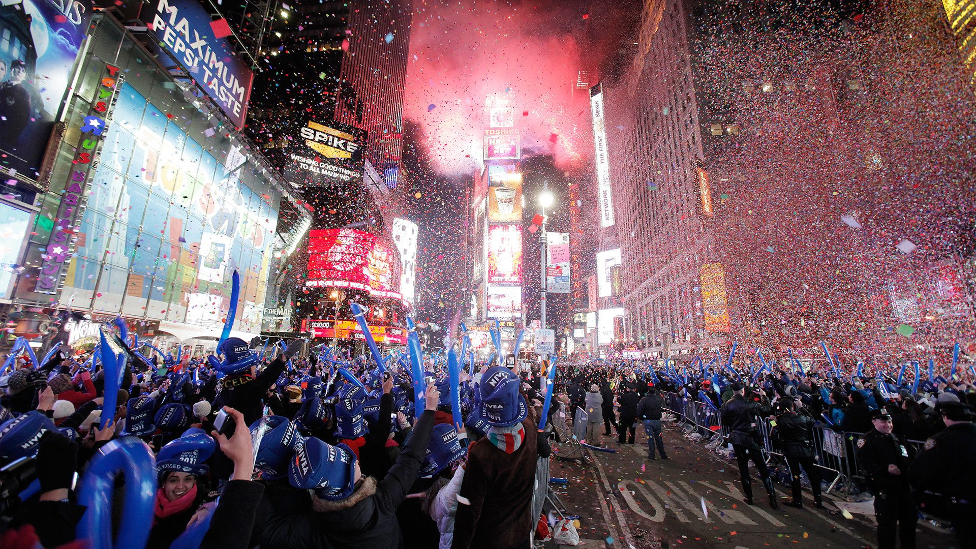 1920x1080 Times Square New Year's Eve Times square new