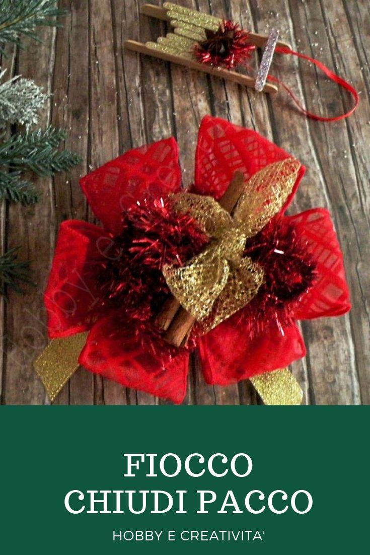 Fiocco natalizio per decorare Decorazioni, Creatività