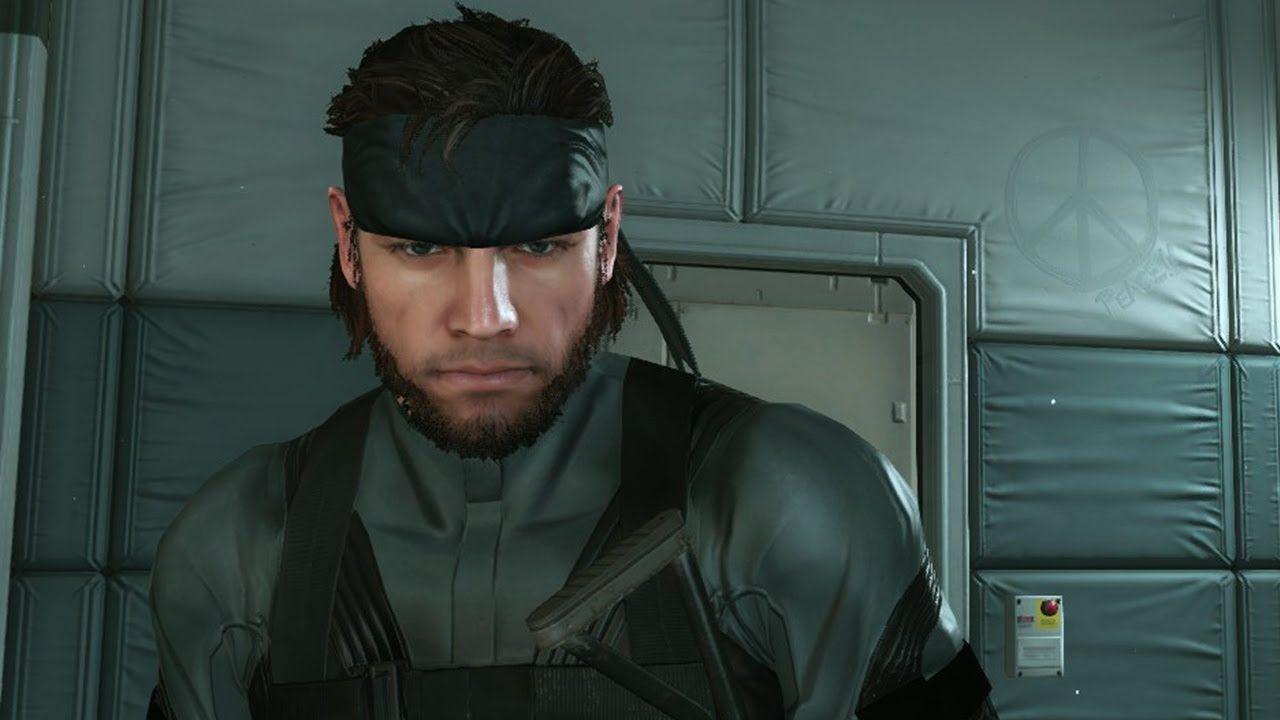 Metal Gear Solid V: MGS2 Solid Snake Mod #MetalGearSolid