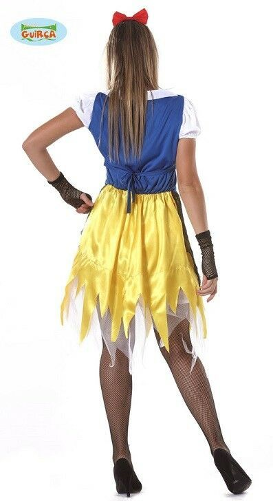 Details about Snow White Zombie Fancy Dress Costume Womens ...  Original Snow White Costume