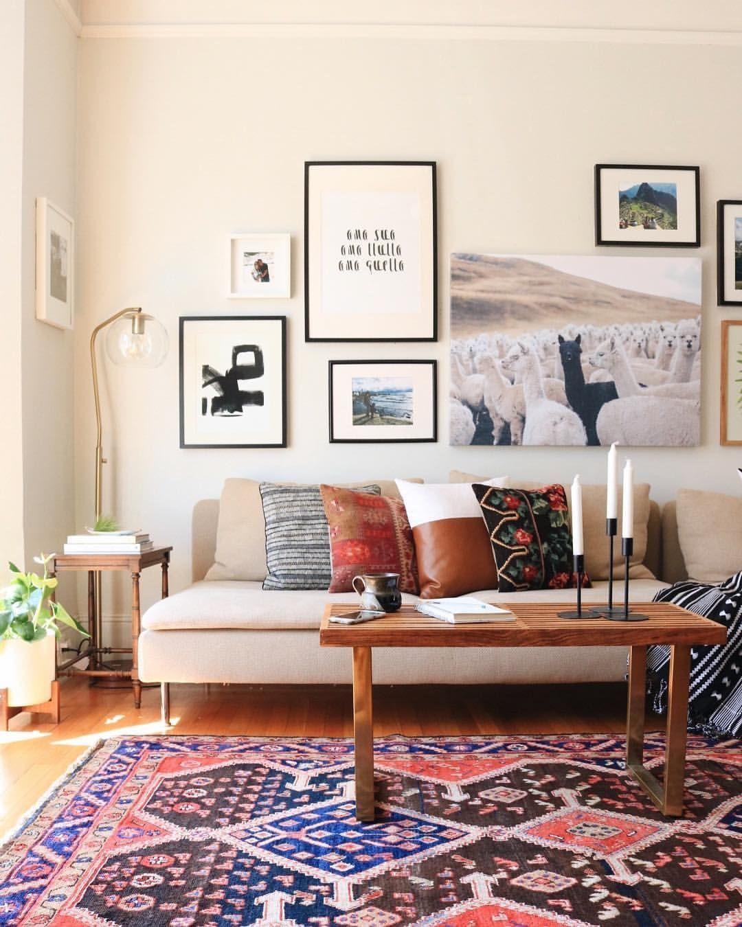 5 Living Rooms That Demonstrate Stylish Modern Design Trends: Boho Chic Fashion, Interior Design Ideas, Modern Interior