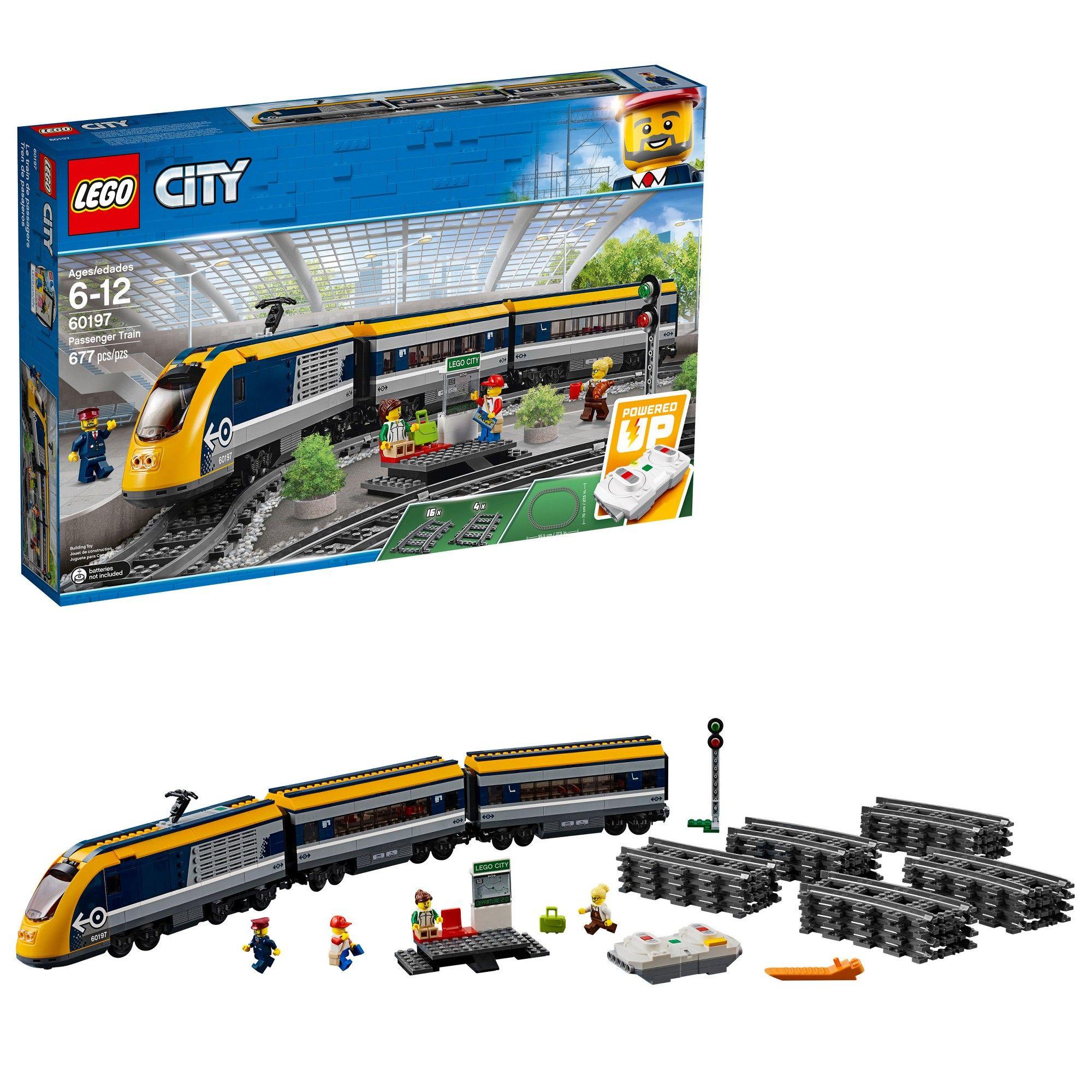 Lego City Passenger Train 60197 Lego City Lego City Train Lego Trains