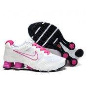 Dame Nike Shox R6 White Pink