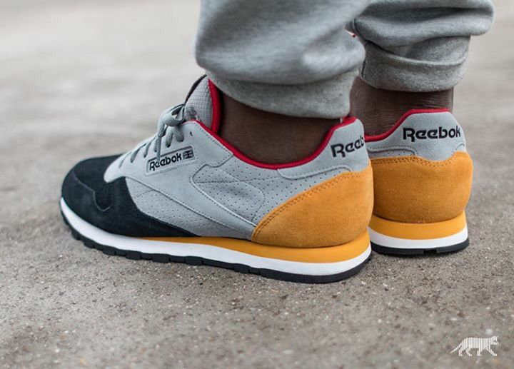 Reebok Classic Leather | Sneaker boots, Reebok classic mens
