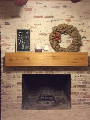 How To Mortar Wash (German Smear) a Brick Fireplace