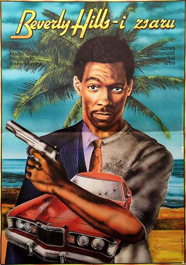 Beverly Hills Cop Hungarian Movie Poster Filmplakatok Filmek