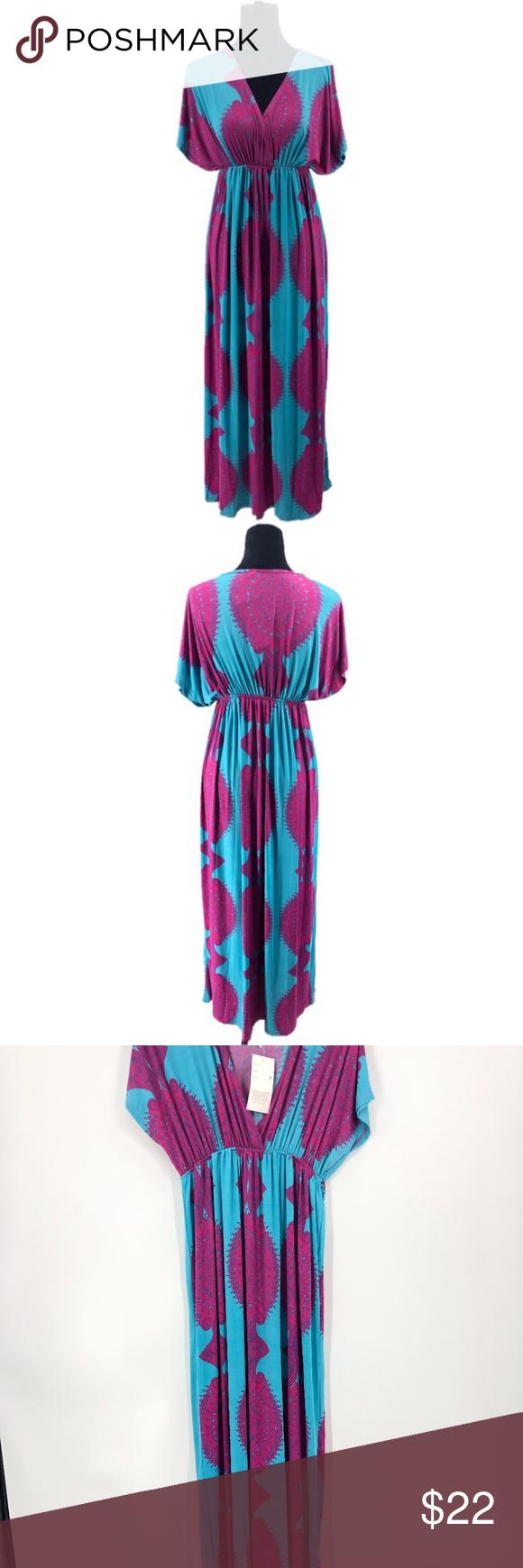 India Boutique Plus Size 2x Maxi Dress India Boutique Dresses Maxi Dress New [ 1740 x 580 Pixel ]