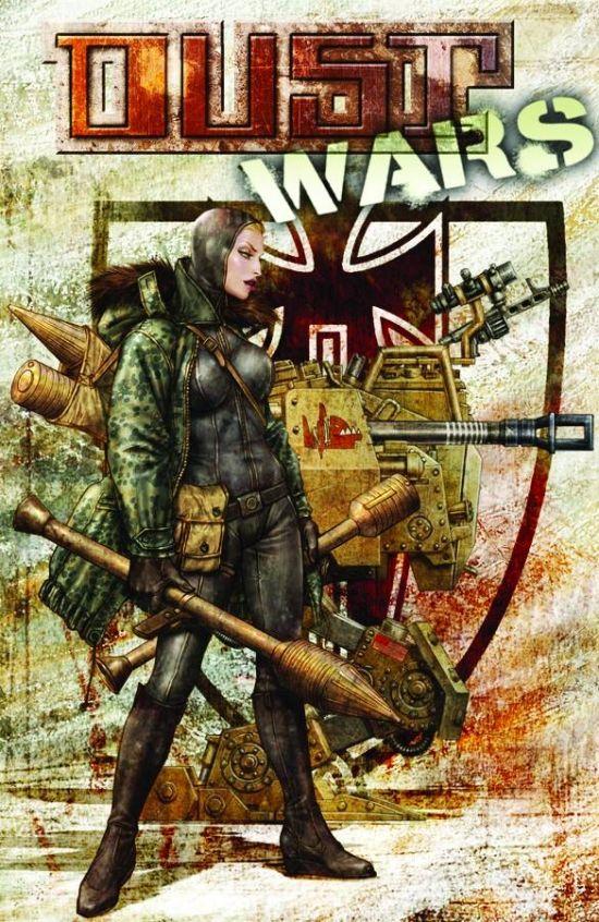 Dust Tactics, Comics, Dust Wars 2 cover
