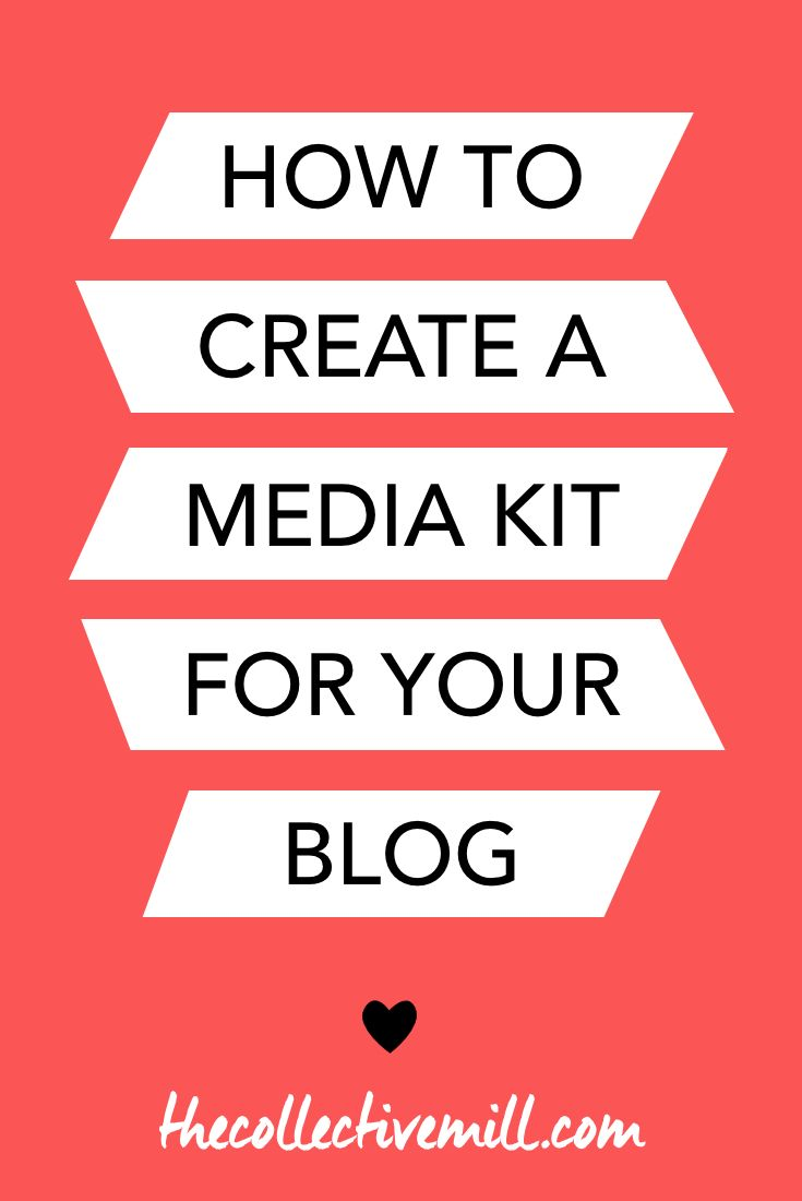 How to Create a Media Kit for Your Blog (+ Free Template ...