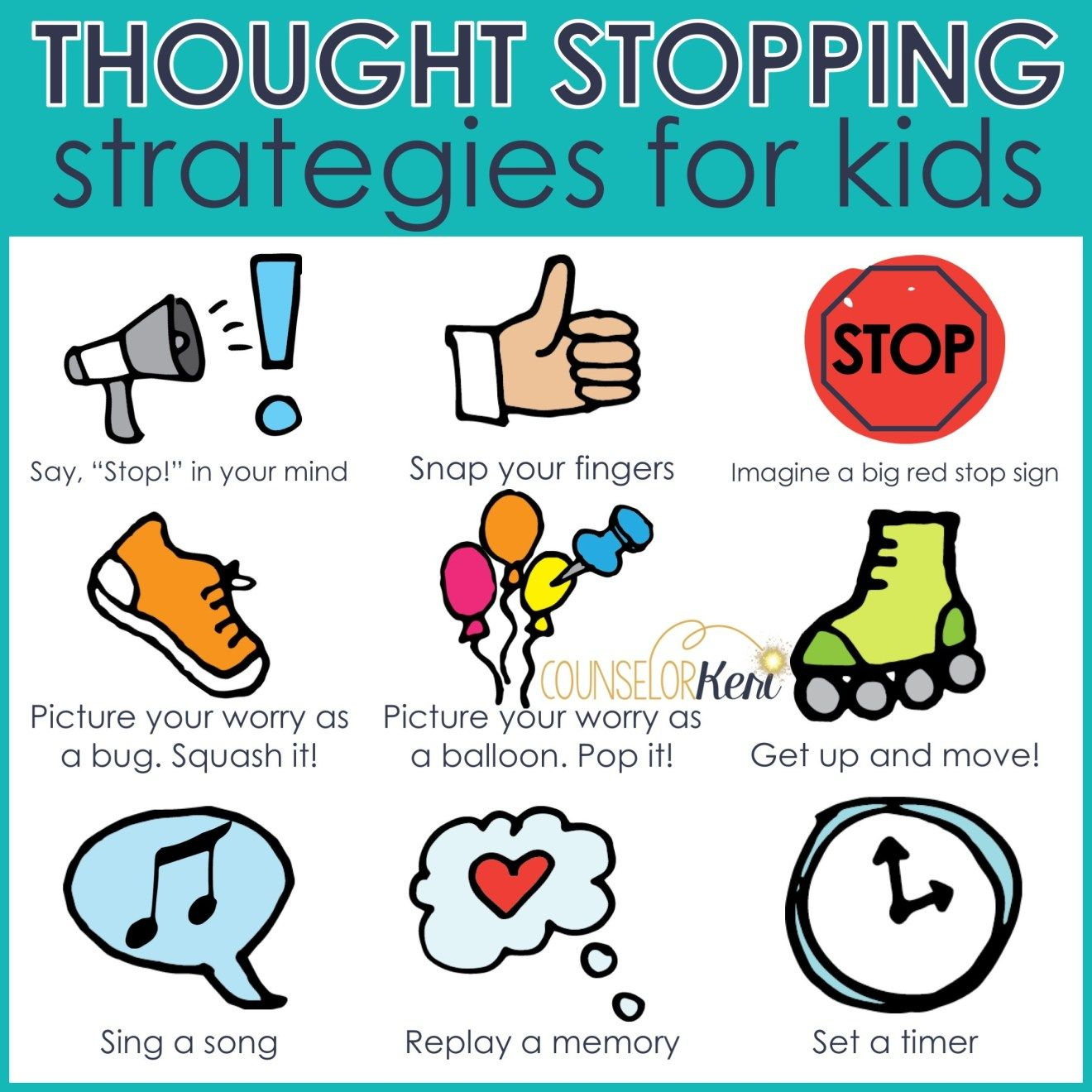 Thought Stopping Strategies For Kids