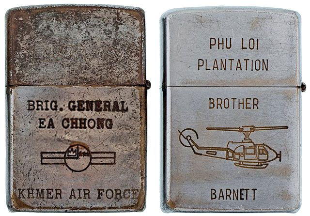This remarkable collection of 282 Zippo lighters from the Vietnam War were complied byBradford Edwards during the 1990s – long before the current demand for mementos from the conflict created the swirling blackmarket in fake Zippos that now dominate market stalls from Hanoi down to Ho Chi Minh. As all of these Zippos were found...