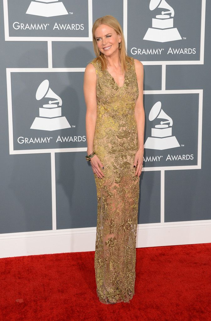 b913c57a62bb Actress Nicole Kidman arrives at the 55th Annual GRAMMY Awards at Staples  Center on February 10