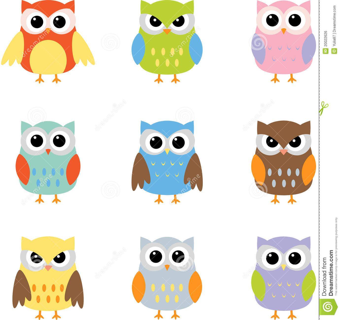 Bekannt owl clip art templates   Image libre de droits: Clipart (images  JC98