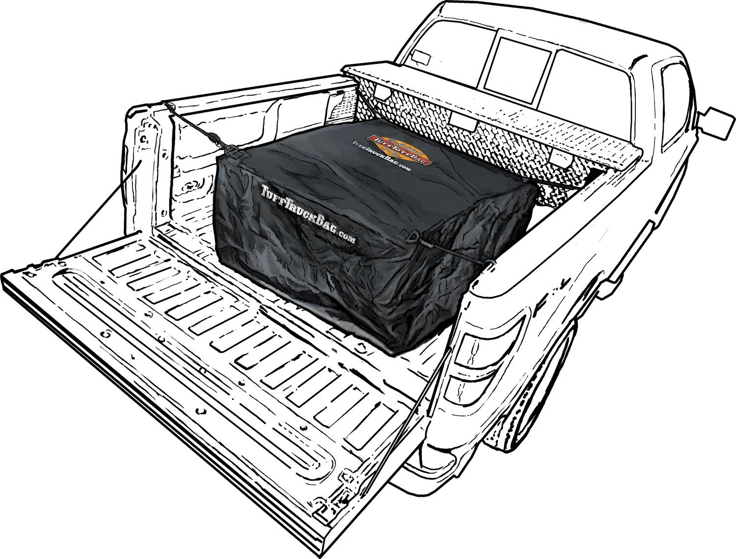 The Tuff Truck Bag is just as durable and waterproof as