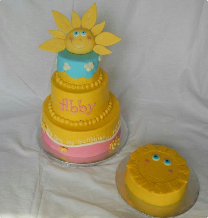 You are my sunshine cake Cake Pinterest Sunshine cake