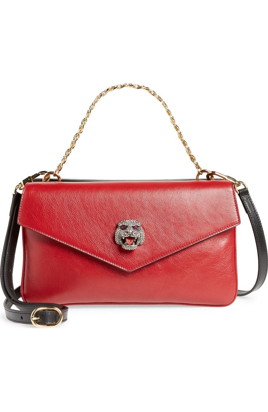 Gucci Thiara Double Leather Shoulder Bag Nordstrom