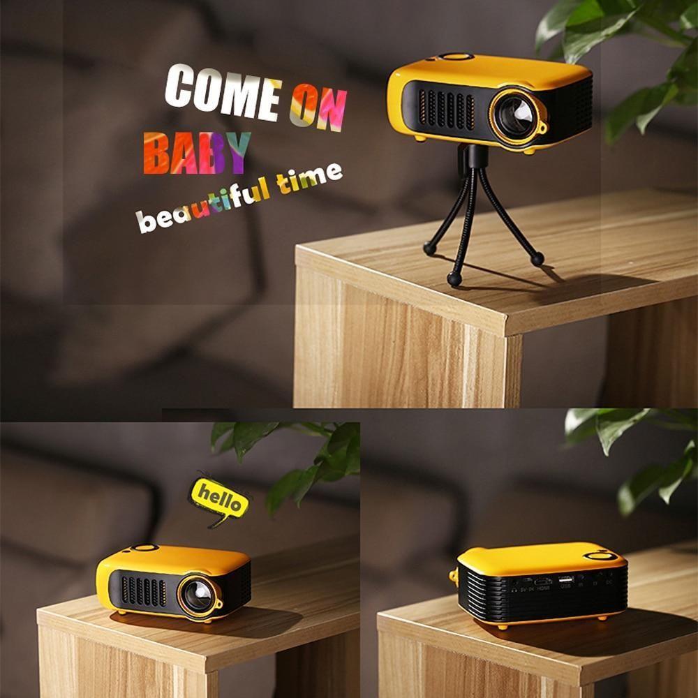 Ninja Dragon Mini Portable Home Theater Full HD Projector