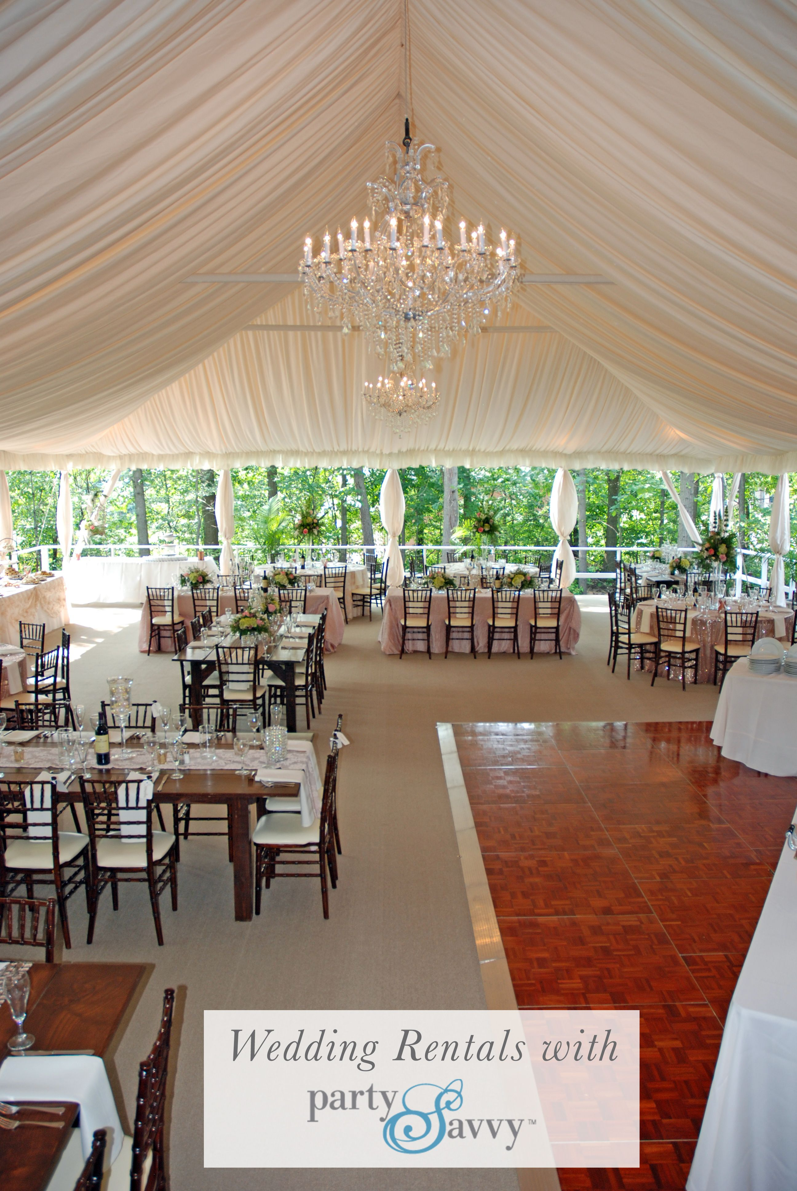 Request A Quote For Your Wedding Today At Partysavvy We Re More Than An Event Rental Company With A Passion F Wedding Rentals Wedding Outdoor Winter Wedding