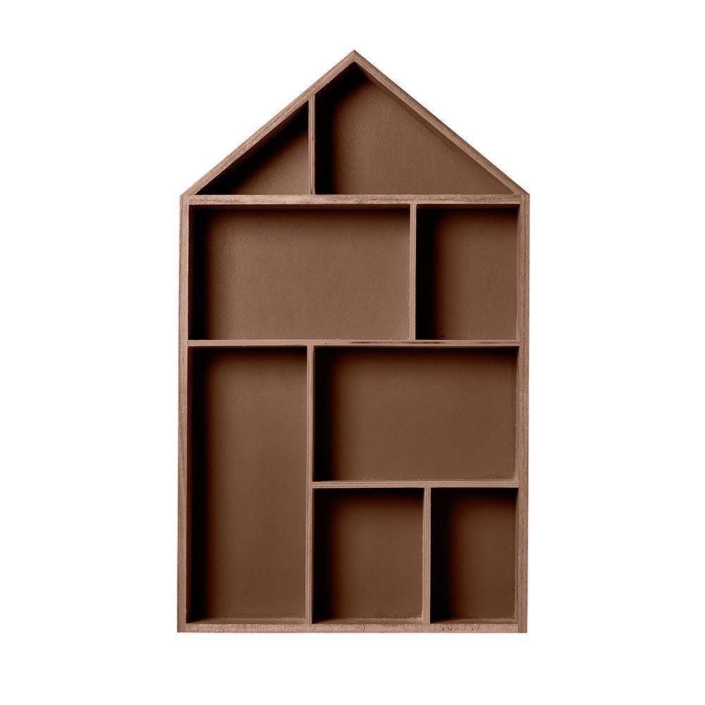 House Display Shelf by Bloomingville
