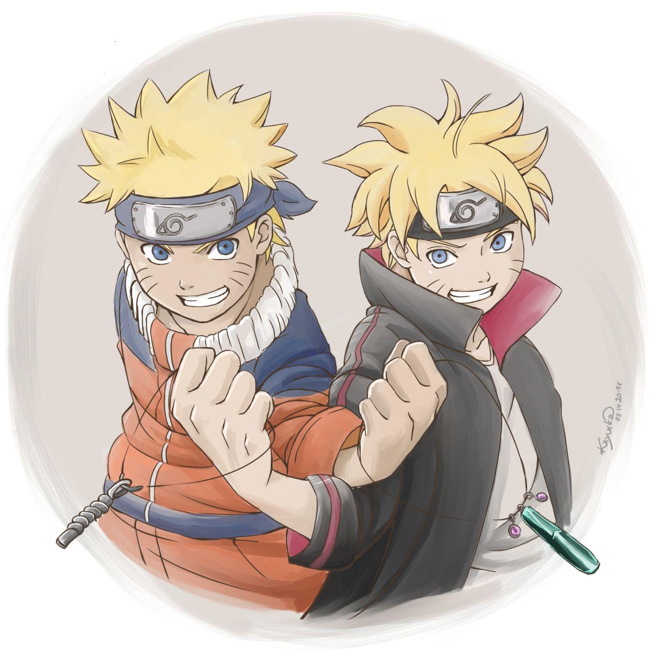 Boruto Naruto: Naruto And Boruto, Like Father Like Son