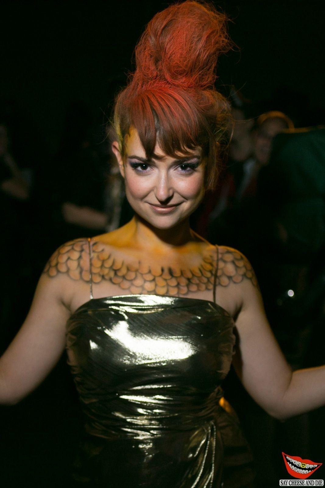 Milana Vayntrub At Halloween Party In Los Angeles | Milana ...