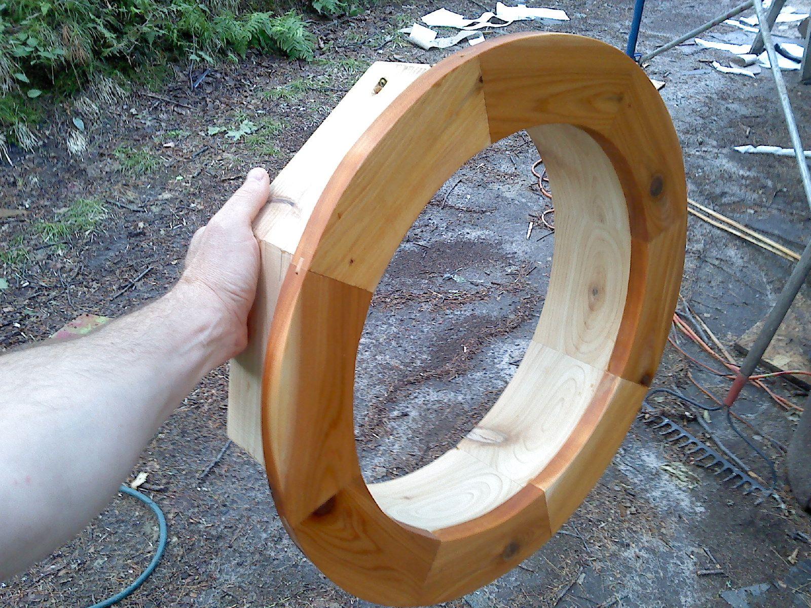 Round Window Frame