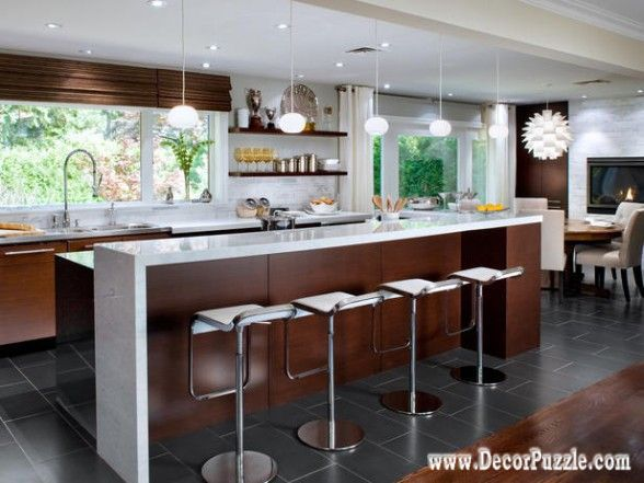 Top 15 Mid Century Modern Kitchen Design Ideas Regarding Incredible House  Modernu2026