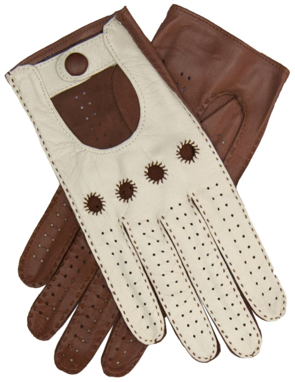 Mens leather driving gloves nordstrom - Women S Two Tone Leather Driving Gloves By Fratelli Orsini