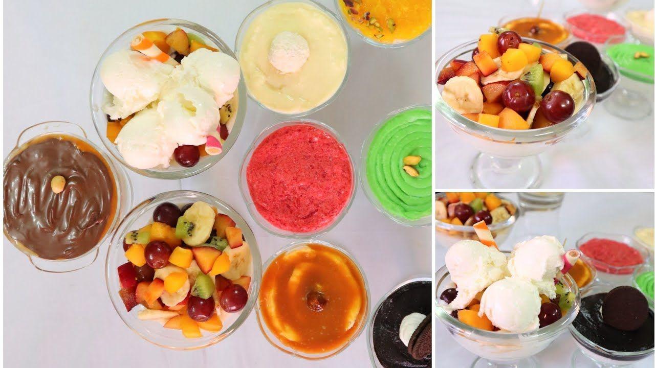 تحدى١٢ طبق رز بلبن بنكهات صيفية مختلفة وكل دة بلتر حليب واحد Food Desserts Pudding