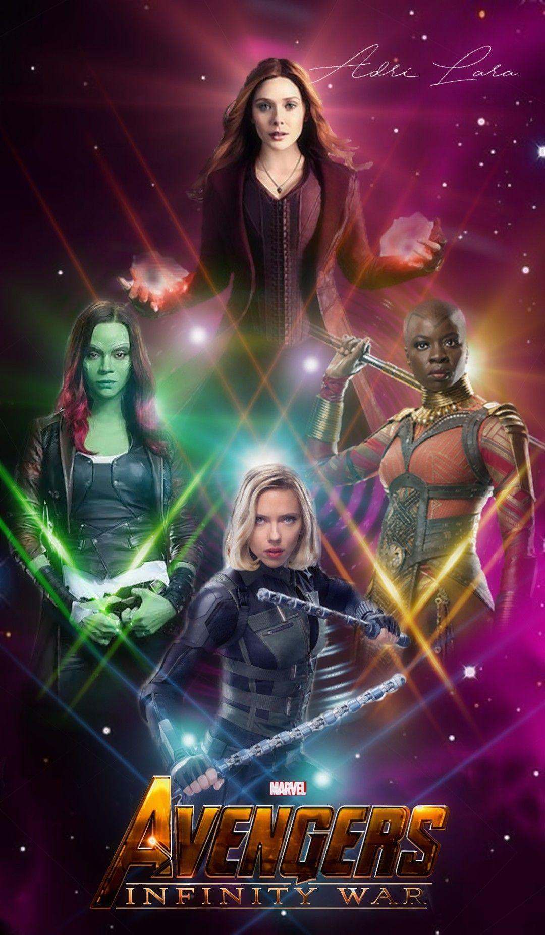 Galactic Warriors Black Widow Wallpaper Female Avengers Marvel Tv