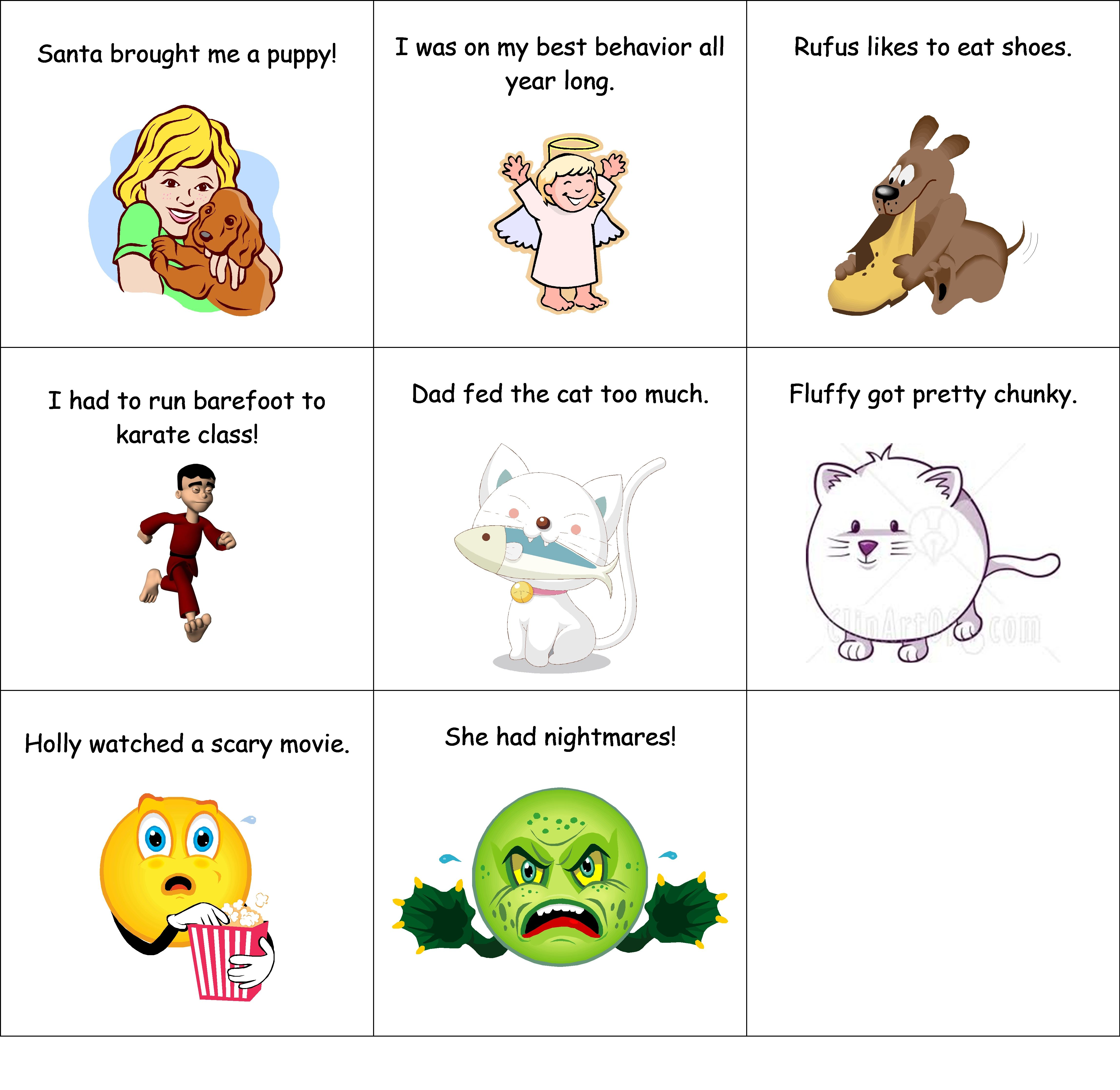 Part 2 Of 2 Cause And Effect Matching Game