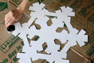 Giant snowflake!!!!! For frozen party!!!!!