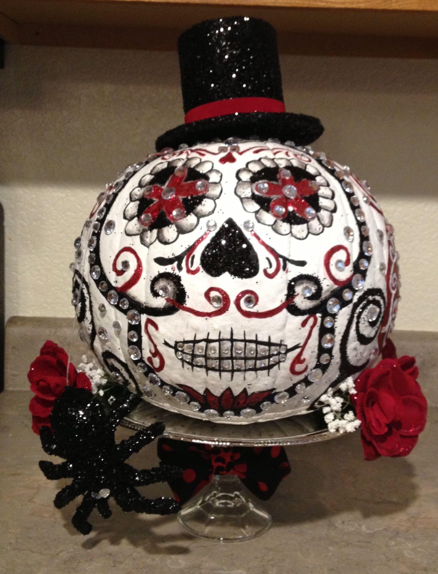 Day of the dead pumpkin | My Style | Pinterest | Pumpkins ...