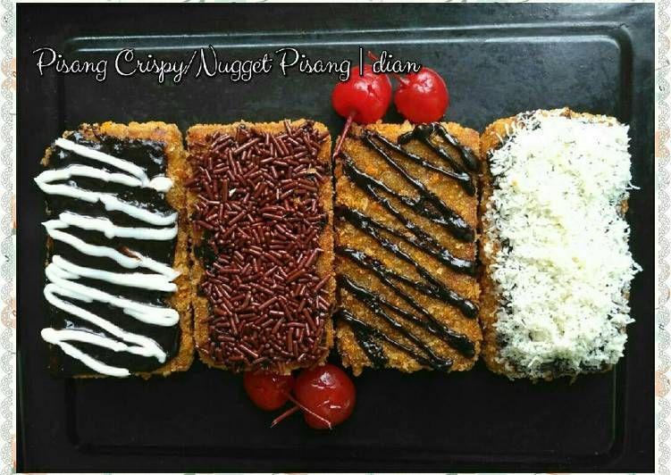 Resep Pisang Crispy Nugget Pisang Oleh Dian Rosdiana Lanesa Resep Resep Makanan Resep Ide Makanan