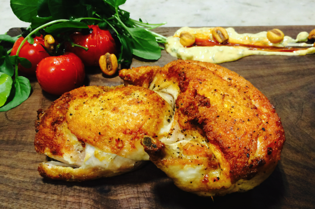 Hickory Planked Chicken