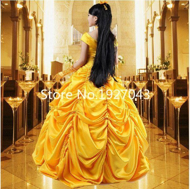 Bete Og La Dyret Kjole Skønhed Belle Et Prinsesse Bell XxPgqw6q