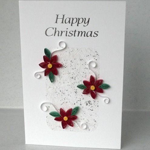Quilled christmas card handmade paper quilling projects to try quilled christmas card handmade paper quilling m4hsunfo