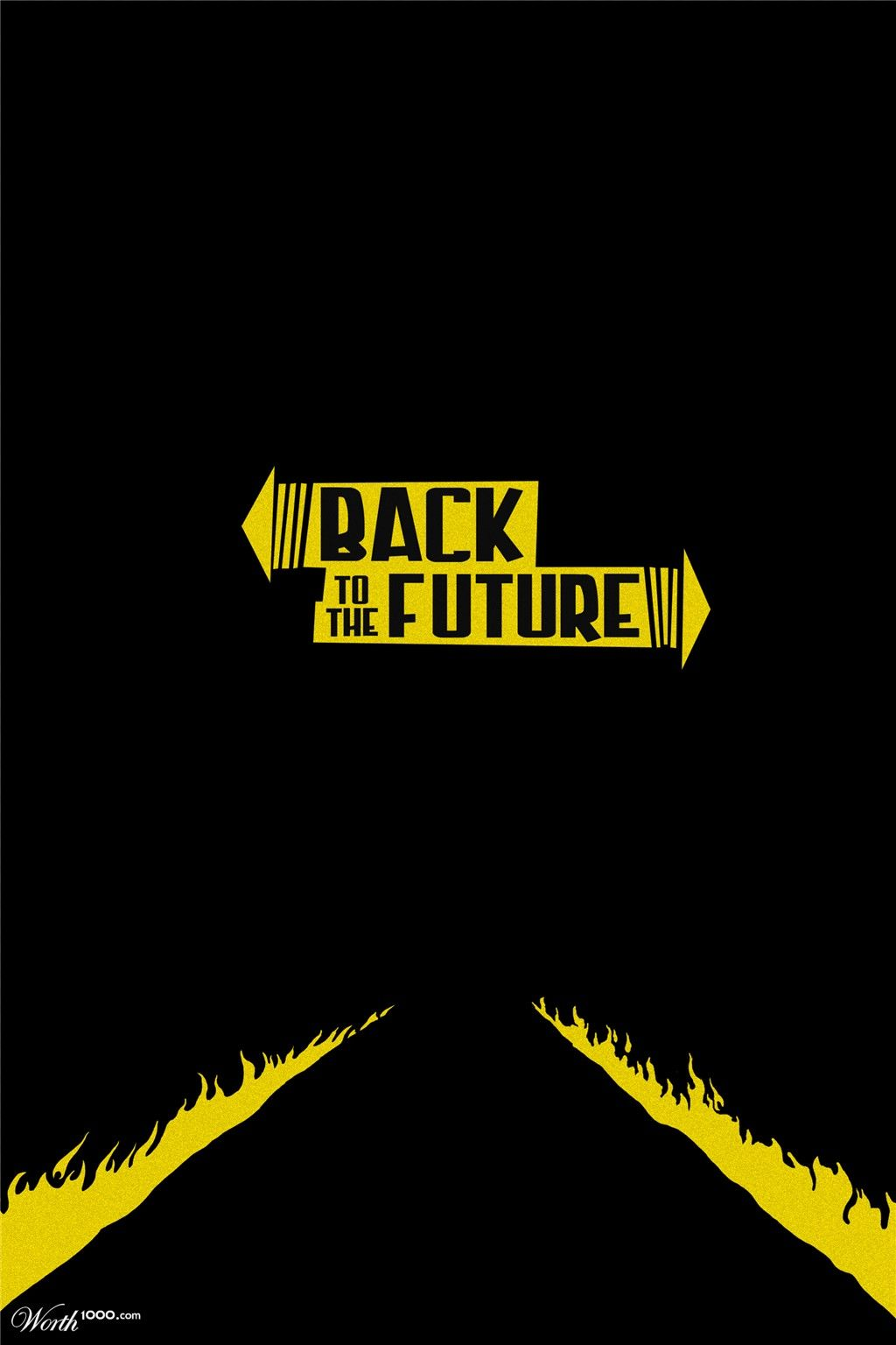 Back to the future worth1000 contests future poster