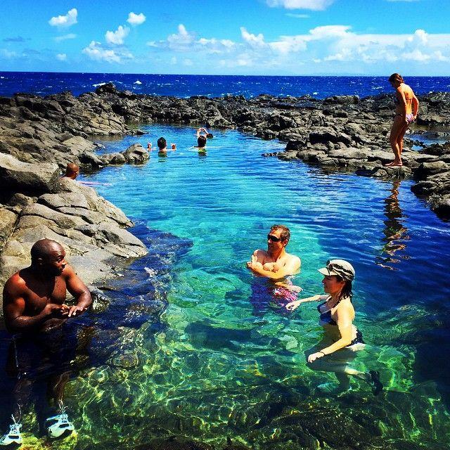 Makapu U Tide Pools With Belen And Fran Oct 2014 Oahu