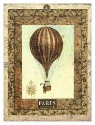 Image result for antique hot air balloon