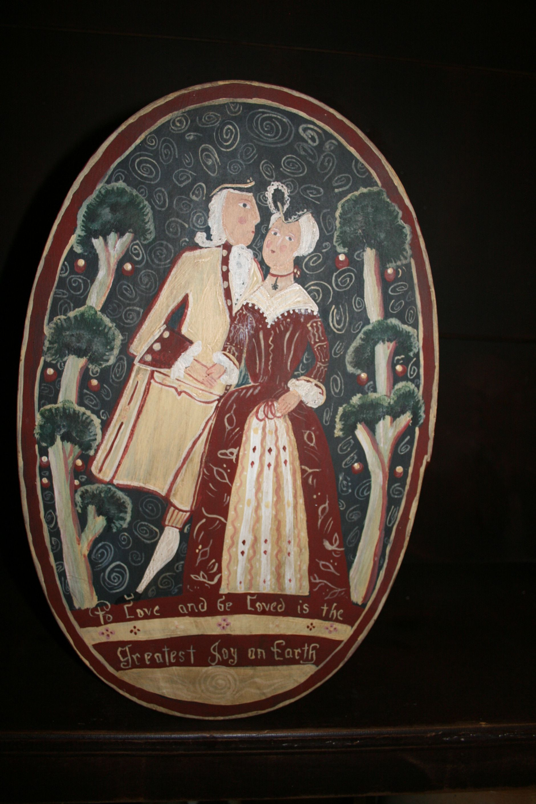 Bride S Box That I Painted By Looking At A Picture From