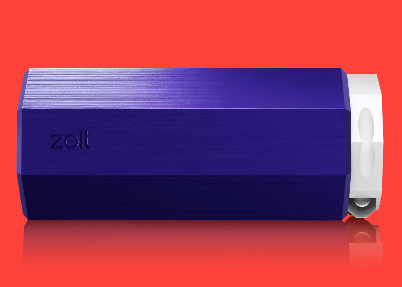 Zolt charger by Yves Behar powers three devices