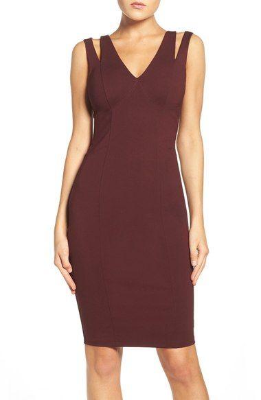 5f297ab37f Ali   Jay Cutout Ponte Sheath Dress available at  Nordstrom ...