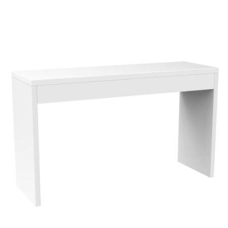 Amazon Com Convenience Concepts Northfield Hall Console Table White Home Kitchen Hall Console Table Living Room Console Unique Console Table