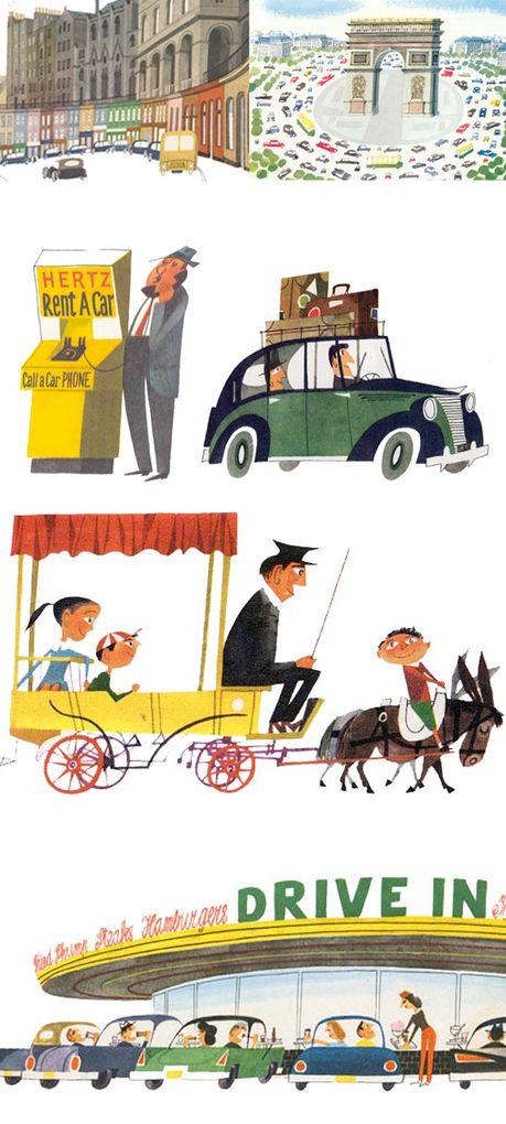 Miroslav Sasek, un clásico de la ilustración.