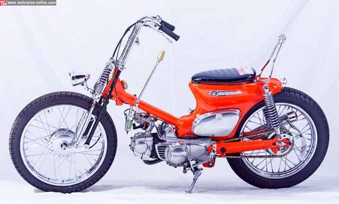 modifikasi motor honda c 70 terpopuler